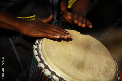 Fotografia, Obraz african drummer
