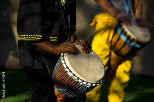 Canvas Prints South Africa african drummer