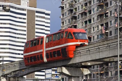 Deurstickers Kuala Lumpur monorail