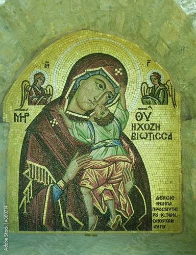vierge,amorgos,grece Wallpaper Mural