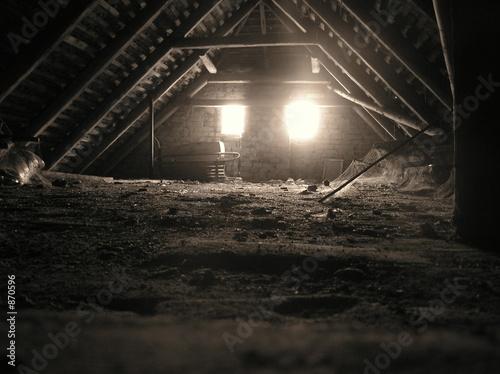 Türaufkleber UFO darkness and light