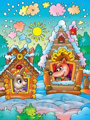 illustrations to cartoon films