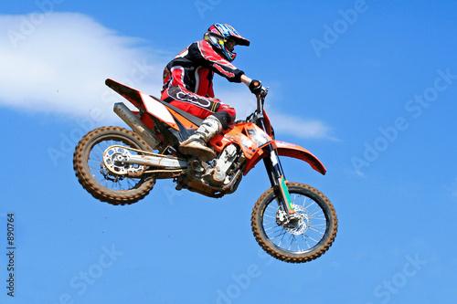 Cadres-photo bureau Motorise motocross jumping