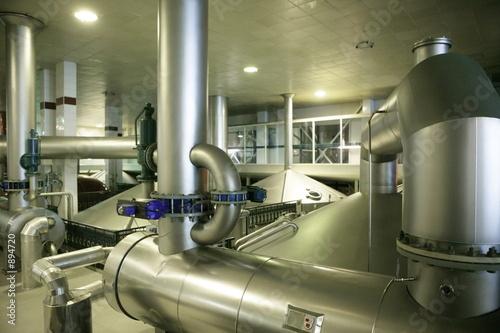 Photo beer factory