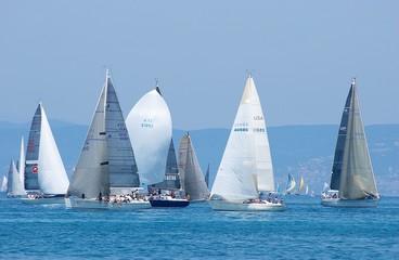 Panel Szklany Żagle sail-boats