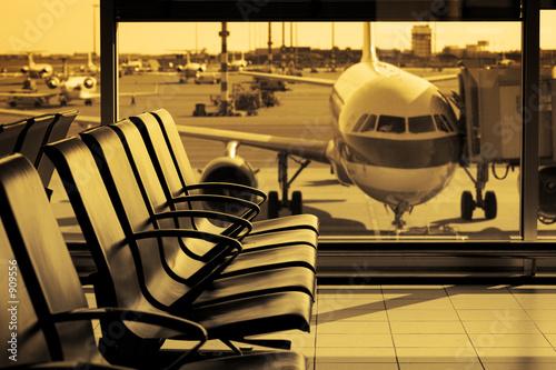 Plakaty samoloty   lotnisko11