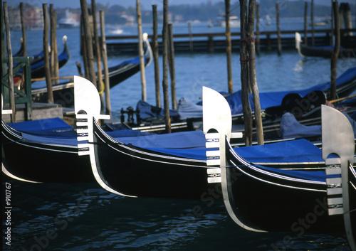 Spoed Foto op Canvas Gondolas gondolas
