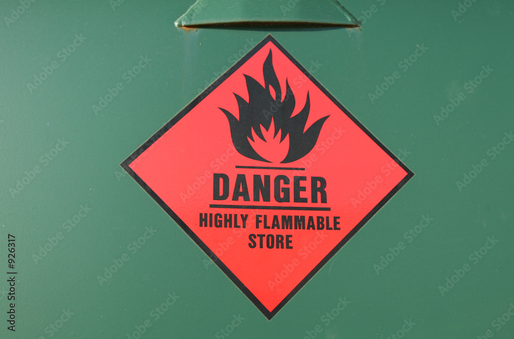 Fototapety, obrazy: flammable store