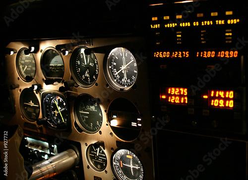 Fotografie, Obraz  cockpit