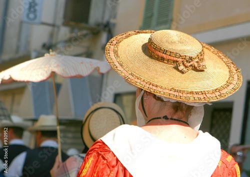 chapeau et coiffe folklorique Canvas Print