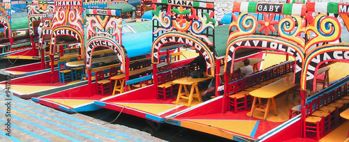 Photo sur Aluminium Mexique xochimilco