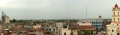 Fotografie, Obraz  ville de camagüey dans le centre de cuba