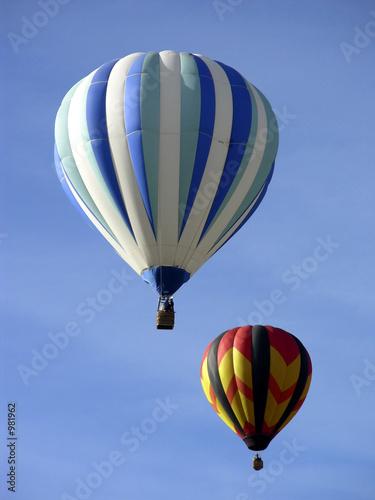 In de dag Ballon togetherness