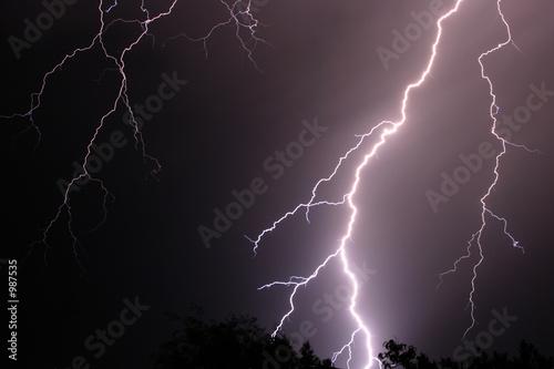 Fotografie, Obraz  lightning 2