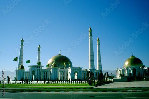mosque in kipchak Canvas Print