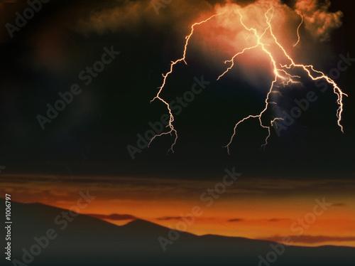 Fotomural lightning6
