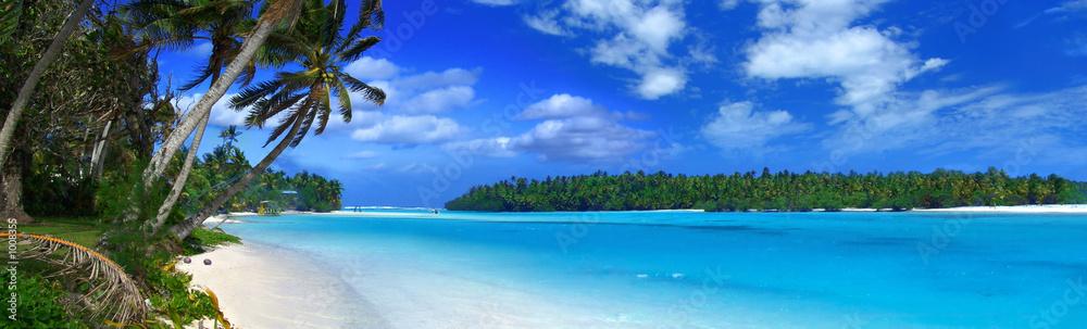 Fototapeta panoramic lagoon ii