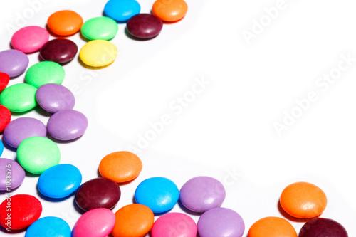 Foto op Aluminium Snoepjes candy swirl