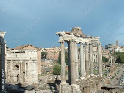 Photographie forum antique de rome