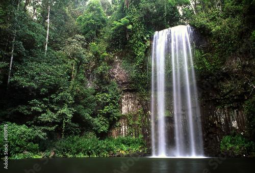 Printed kitchen splashbacks Australia waterfalls