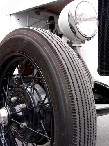 Fototapeta speedster wheel
