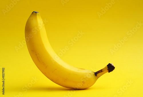 Leinwand Poster yoga banana