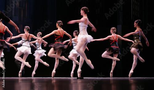 In de dag Dance School ballet