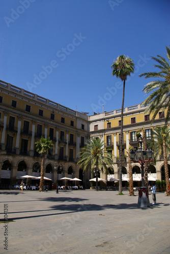 Staande foto Barcelona famous barcelona square
