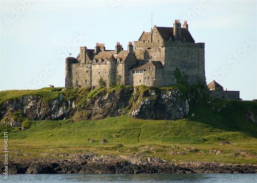Fotomural duart castle, isle of mull - clan maclean-scotland