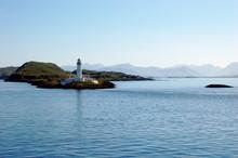 Lizmore Lighthouse, Sound Of Mull, Scotland