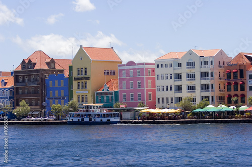Foto op Plexiglas Caraïben curacao waterfront