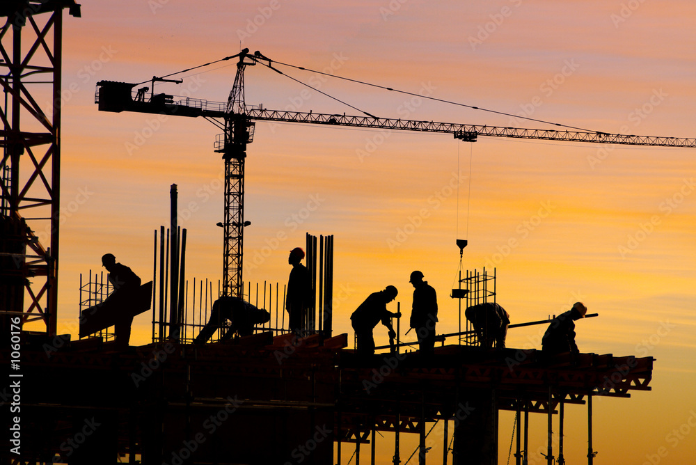 Fototapeta construction site