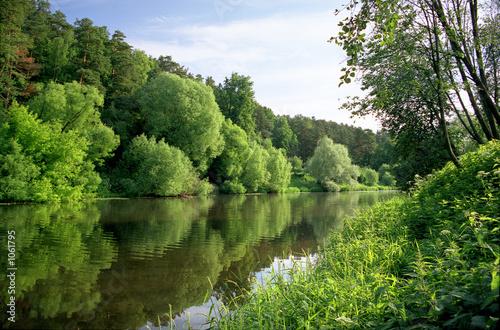 Foto op Plexiglas Rivier down the river...