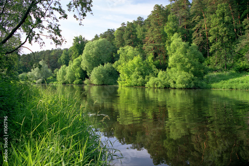 Foto auf Gartenposter Fluss down the river...