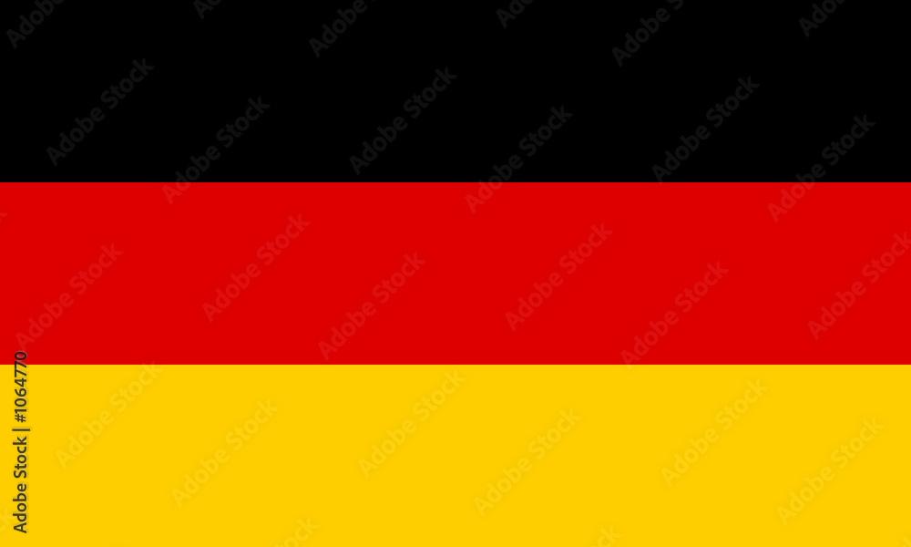 Fototapeta deutschland fahne