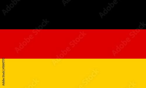 Obraz deutschland fahne - fototapety do salonu