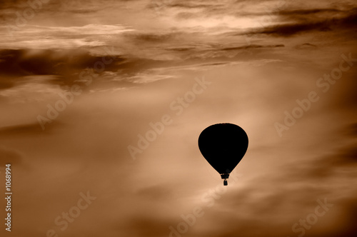 Canvas Print hot air balloon