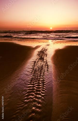 Spoed Foto op Canvas Zee zonsondergang sunset landscape
