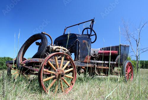 Fototapety, obrazy: old 1920's car