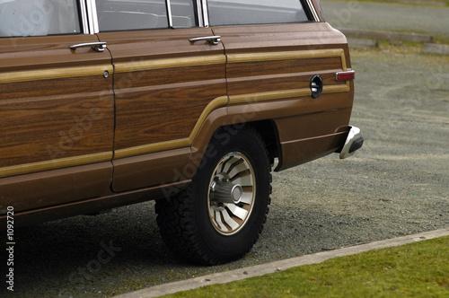 Fotografie, Obraz seventies american station wagon