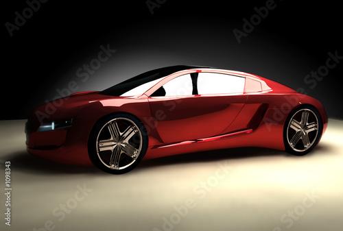 Fotobehang Snelle auto s car