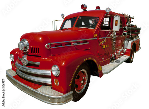 Photographie old firetruck