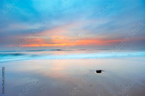 Foto op Aluminium Strand sunset landscape