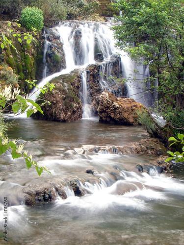 Foto op Canvas Watervallen small waterfall