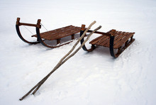 Reindeer Sleigh - Lapland