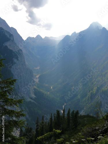 Photo  fairy tale-like landscape