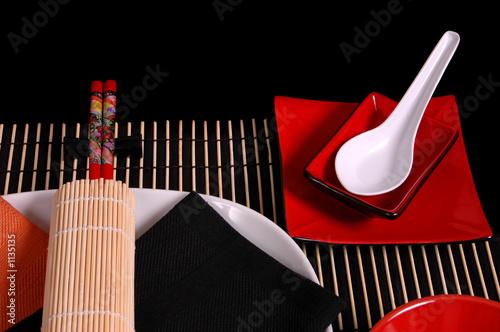 asian tablescape 1 Fototapet