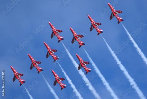 Valokuva  the red arrow jets