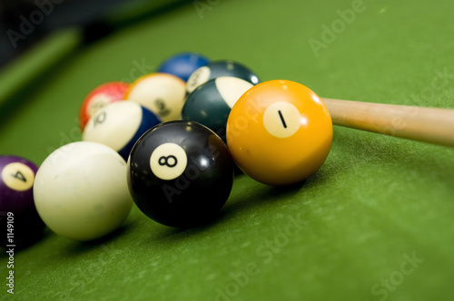 Fotografie, Obraz  pool - billiards