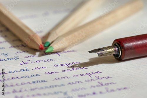Fotografia, Obraz  porte-plume et crayons